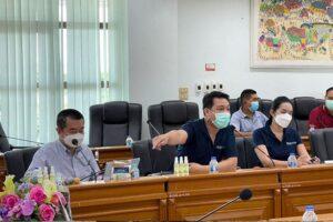 Read more about the article วางแผนการประชุมการบำบัดน้ำเสียที่บึงหนองโคตร